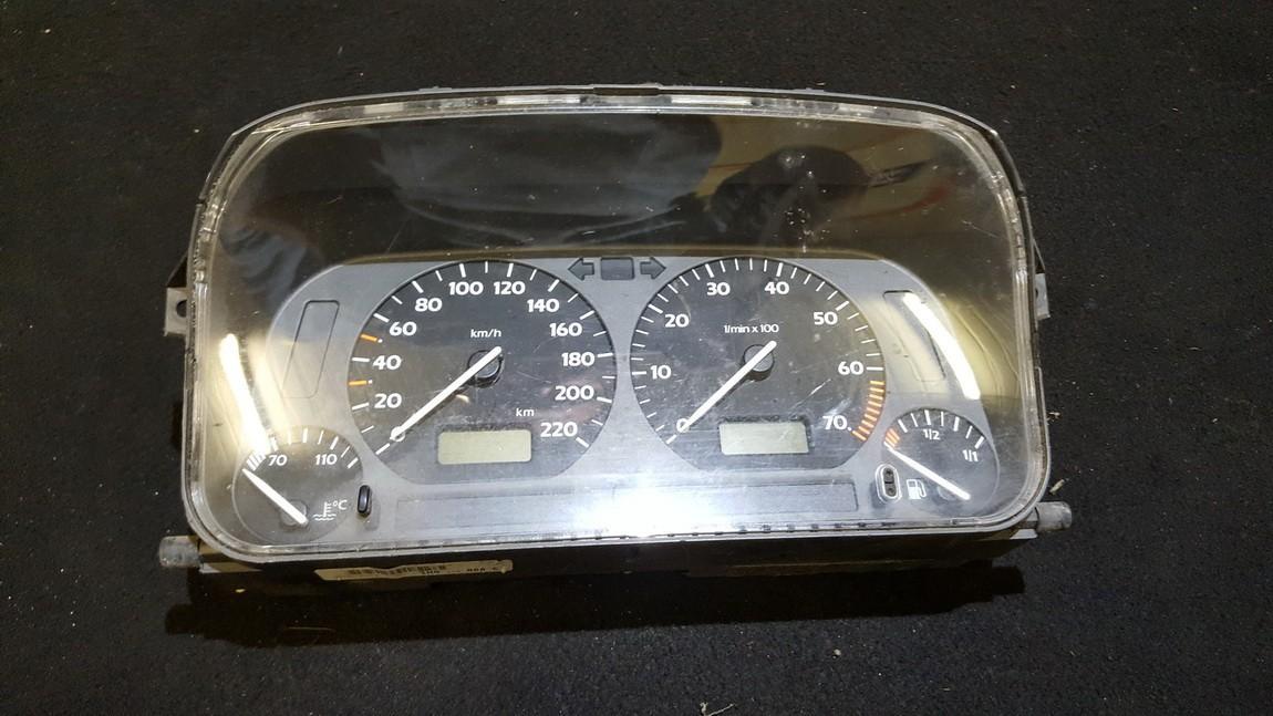 Spidometras - prietaisu skydelis 87001262 88311188, 1H0919860C Volkswagen GOLF 1996 1.9