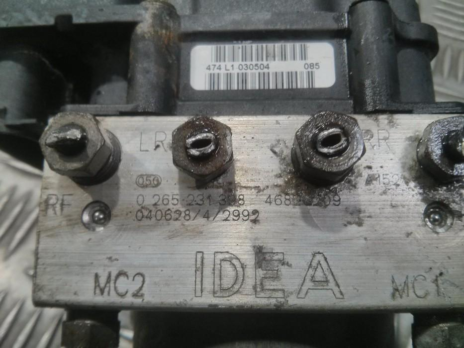 Блока АБС Fiat Idea 2006    1.4 0265231308