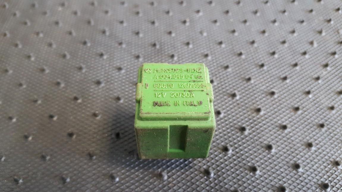 Relay module A0045450405 125/75684, 690.10, 69010 Volkswagen LT 1998 2.5
