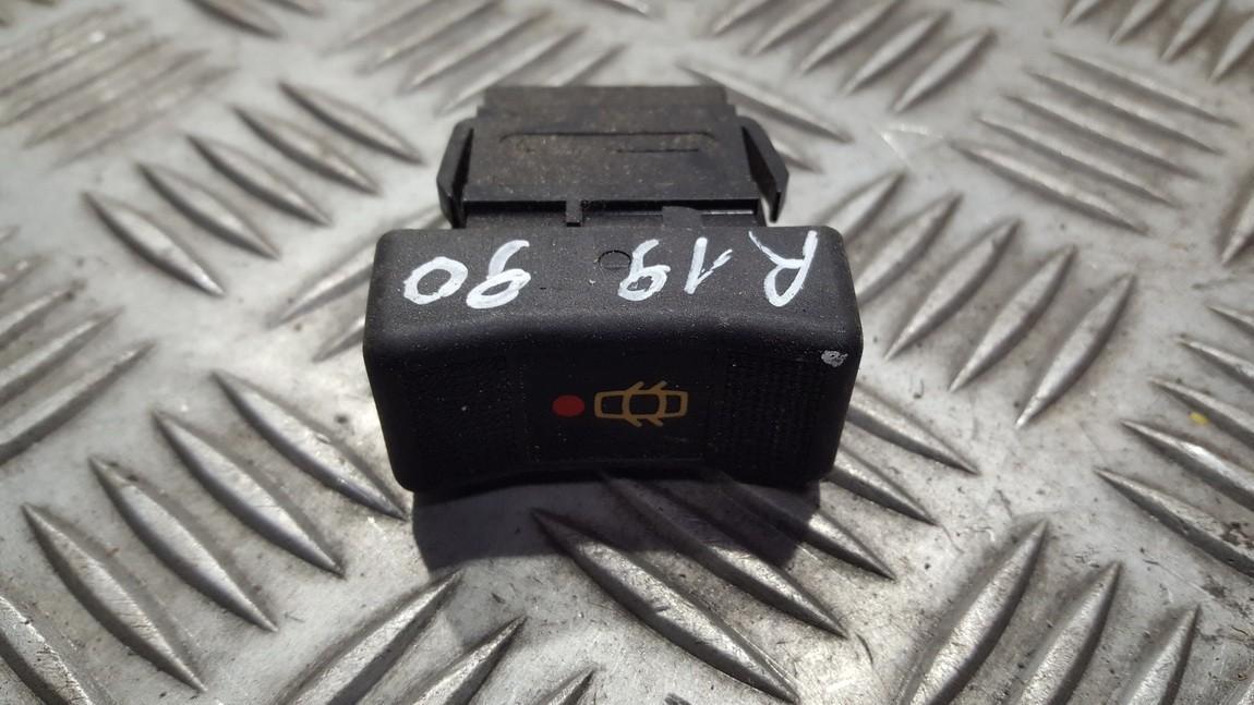 Door central locking lock unlock switch control Renault 19 1990    1.7