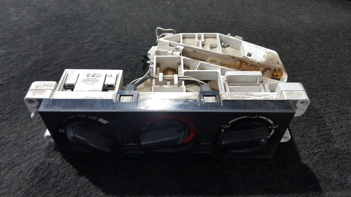Peciuko valdymas NENUSTATYTA NENUSTATYTA Nissan ALMERA 2001 1.8