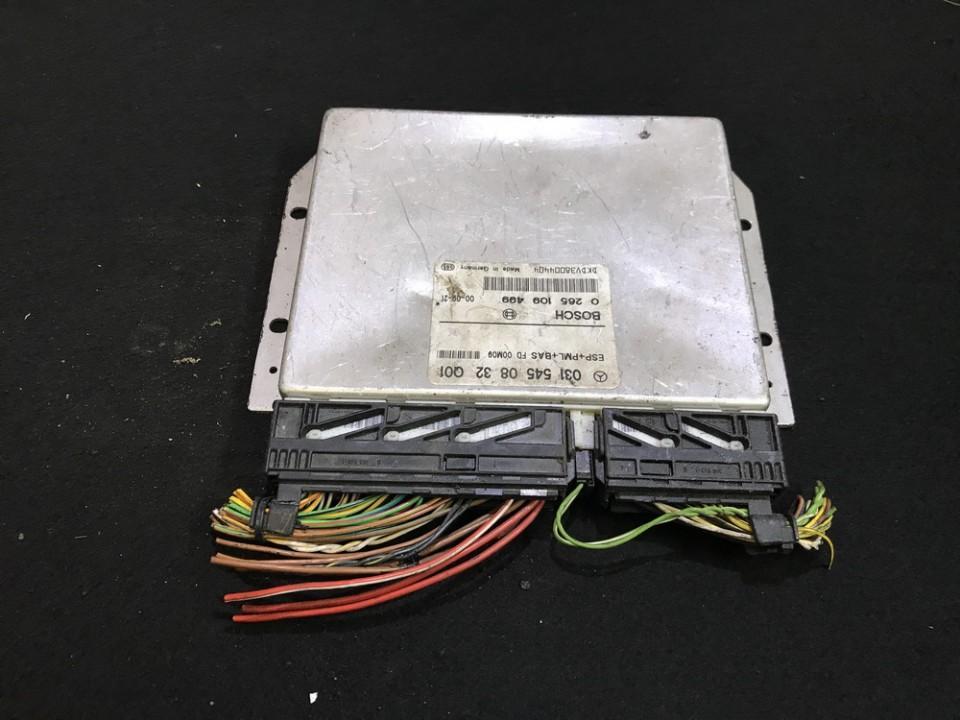 ESP kompiuteris 0265109499 0315450832 Mercedes-Benz E-CLASS 1999 2.7