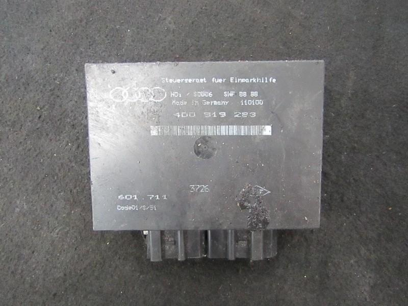 Блок управления парковочным Audi A8 2001    3.3 4D0919283