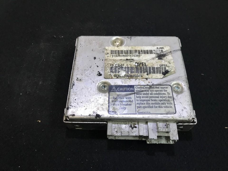 Блок управления АБС Opel Sintra 1997    2.2 16198391
