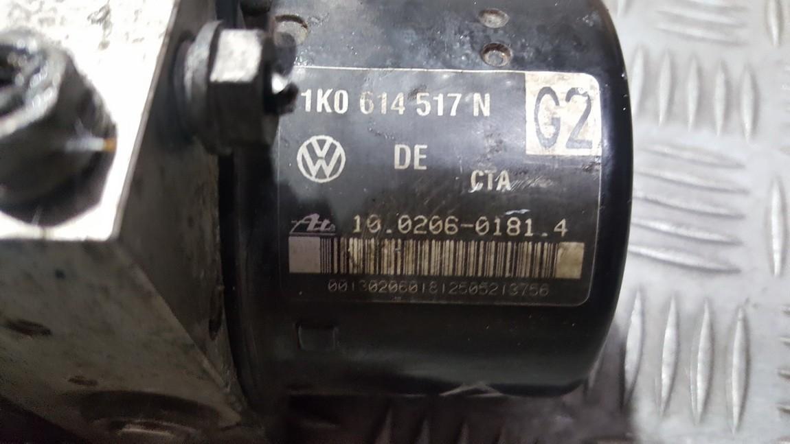 Блока АБС Volkswagen Golf 2005    2.0 1K0614517N