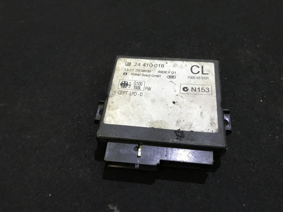 Блок комфорта Opel Astra 1999    0.0 24410018
