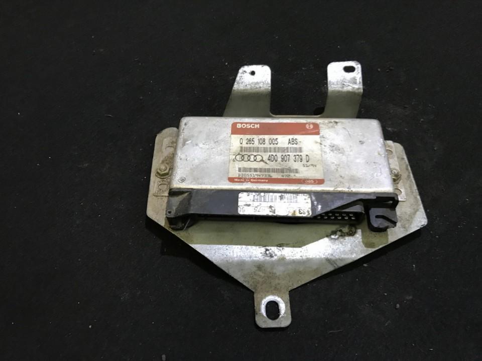 Блок управления АБС Audi A6 1995    0.0 0265108005