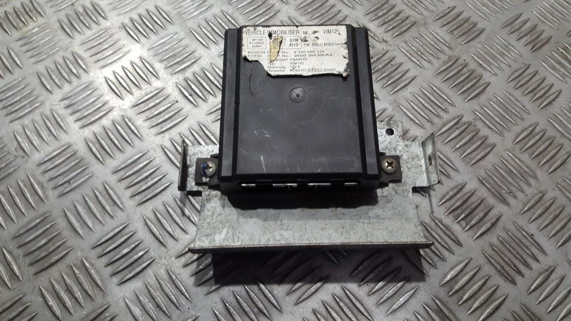 Immobiliser ECU Ford Probe 1995    2.0 9330065125