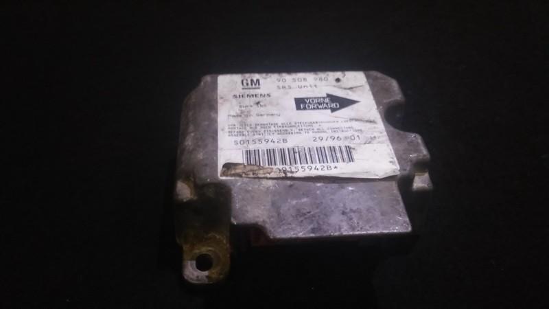 Блок управления AIR BAG  Opel Vectra 1997    1.6 90508980
