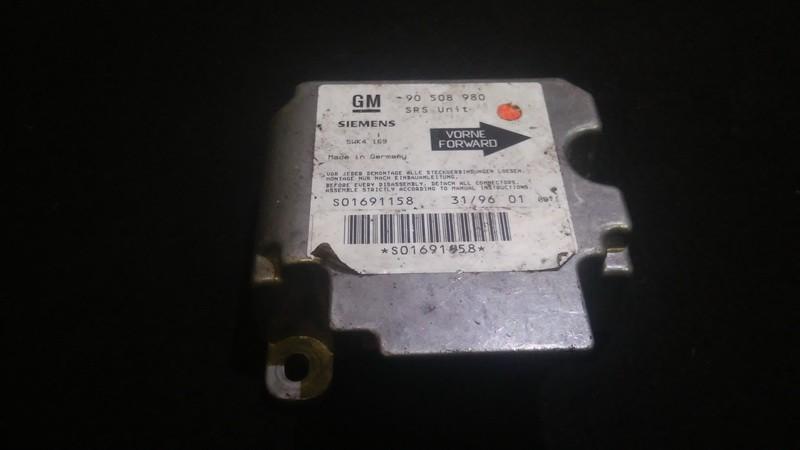 Блок управления AIR BAG  Opel Vectra 1999    1.6 90508980