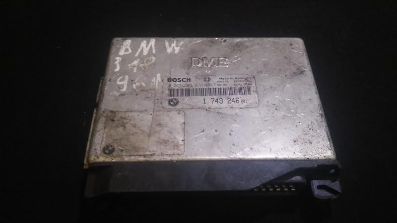 Блок управления двигателем BMW 3-Series 1994    1.8 1743246