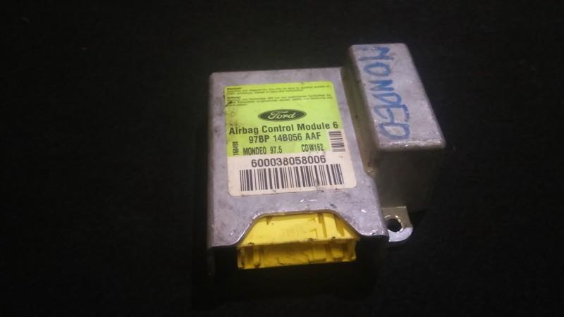 Блок управления AIR BAG  Ford Mondeo 1999    1.8 97bp14b056aaf