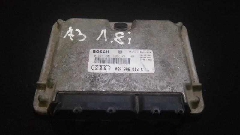 Блок управления двигателем Audi A3 1998    1.8 0261204126127