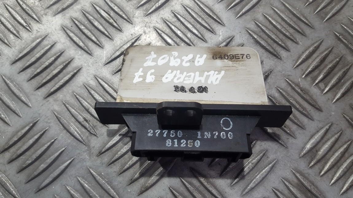 Резистор отопителя Nissan Almera 1997    2.0 277501N700