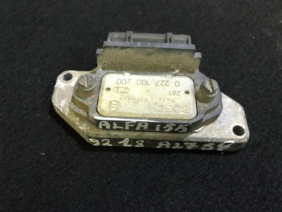 Ignition Control Module Alfa-Romeo 155 1992    1.8 0227100200
