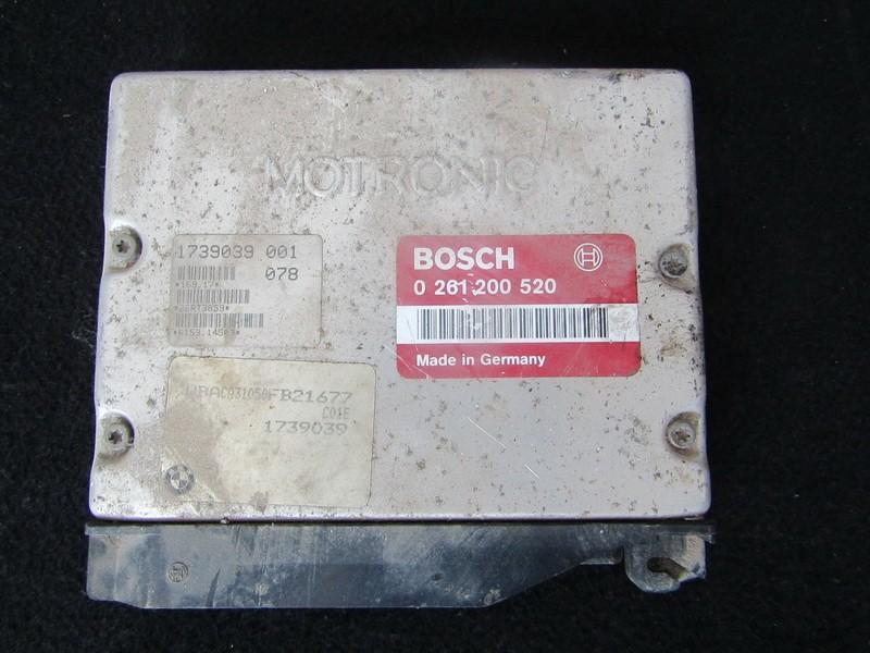 Блок управления двигателем BMW 3-Series 1991    1.8 0261200520