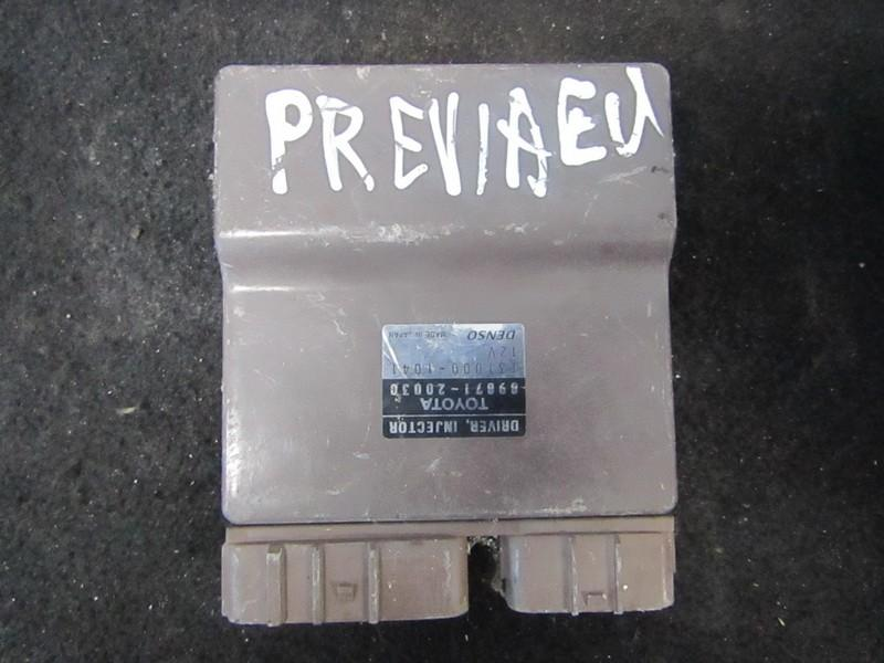 Fuel Injection ECU Toyota Previa 2002    2.0 8987120030