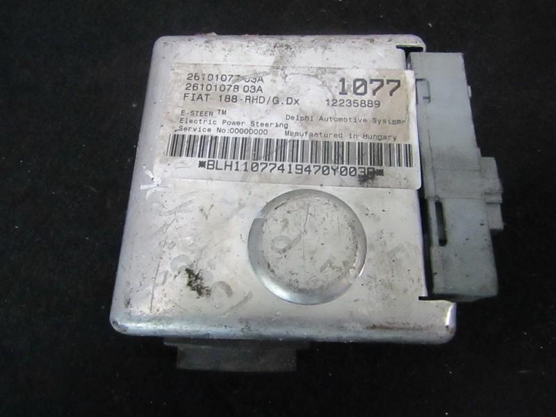 Power Steering ECU (steering control module) 2610107803a 2610107703a, 12235889 Fiat PUNTO 1999 1.2