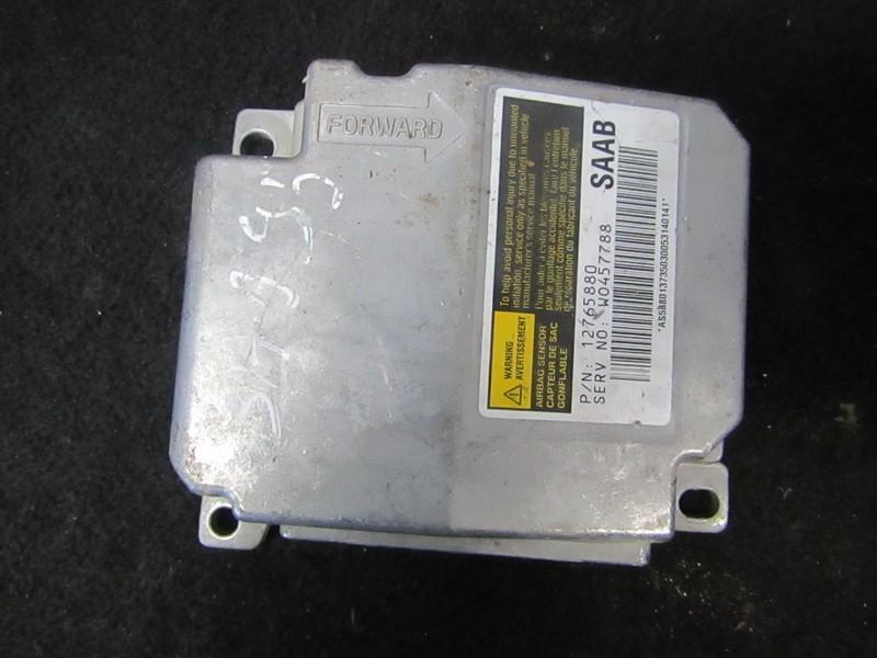 Блок управления AIR BAG  12765880 W0457788 SAAB 9-5 1998 2.0