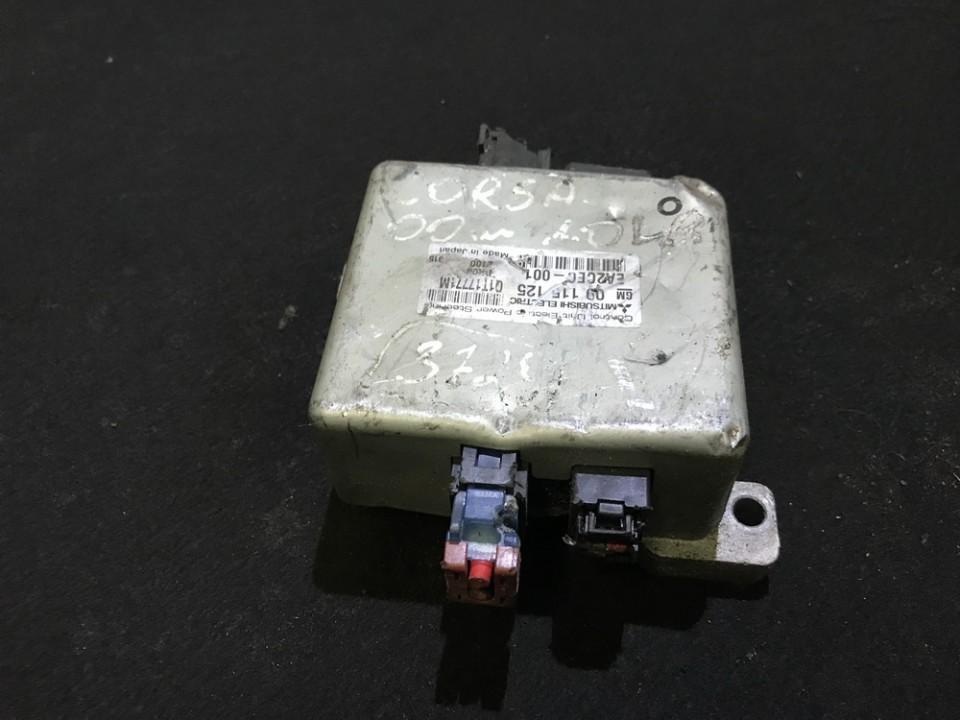 Блоки управления Насос гидроусилителя Opel Corsa 2004    0.0 09115125