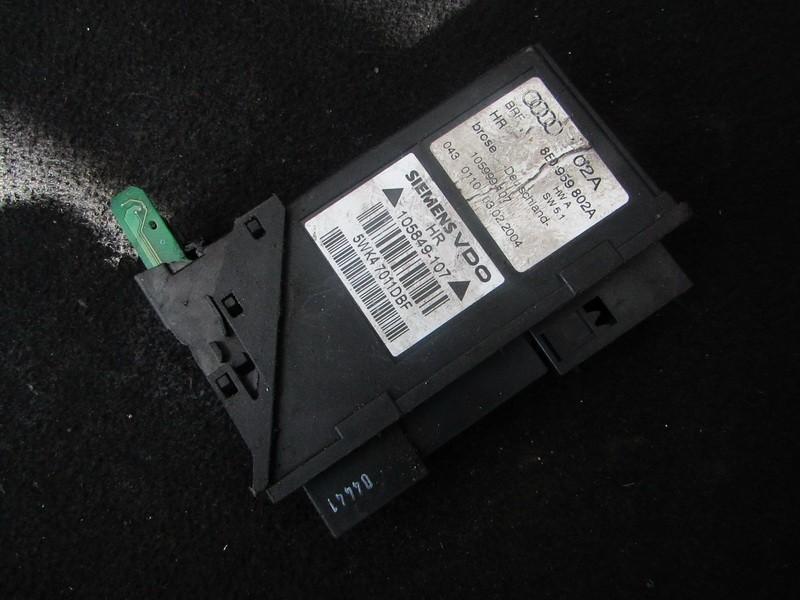 Electric window control unit Audi A4 2004    2.5 8E0959802A