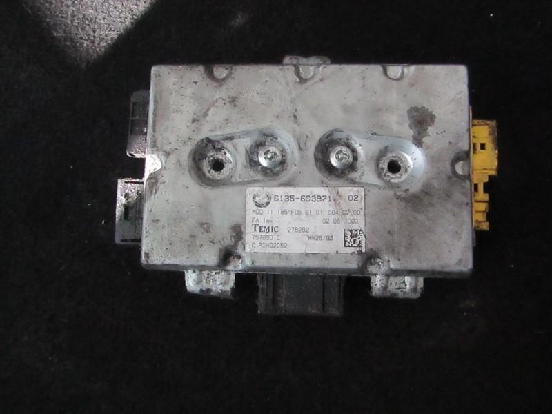 Electric window control unit BMW 5-Series 2003    2.2 75789012