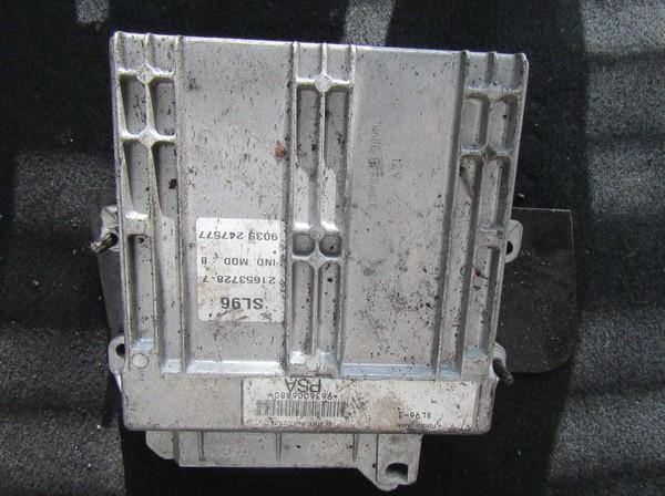 Variklio kompiuteris 216537287 21653728-7, 9035247577 Peugeot 406 1998 1.9