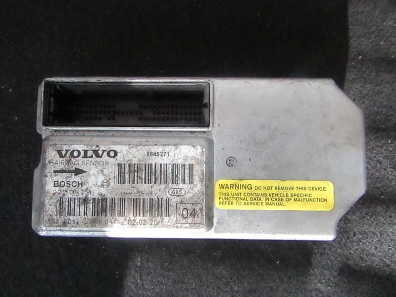 SRS AIRBAG KOMPIUTERIS - ORO PAGALVIU VALDYMO BLOKAS 8645271 0285001254 Volvo V70 2007 2.4