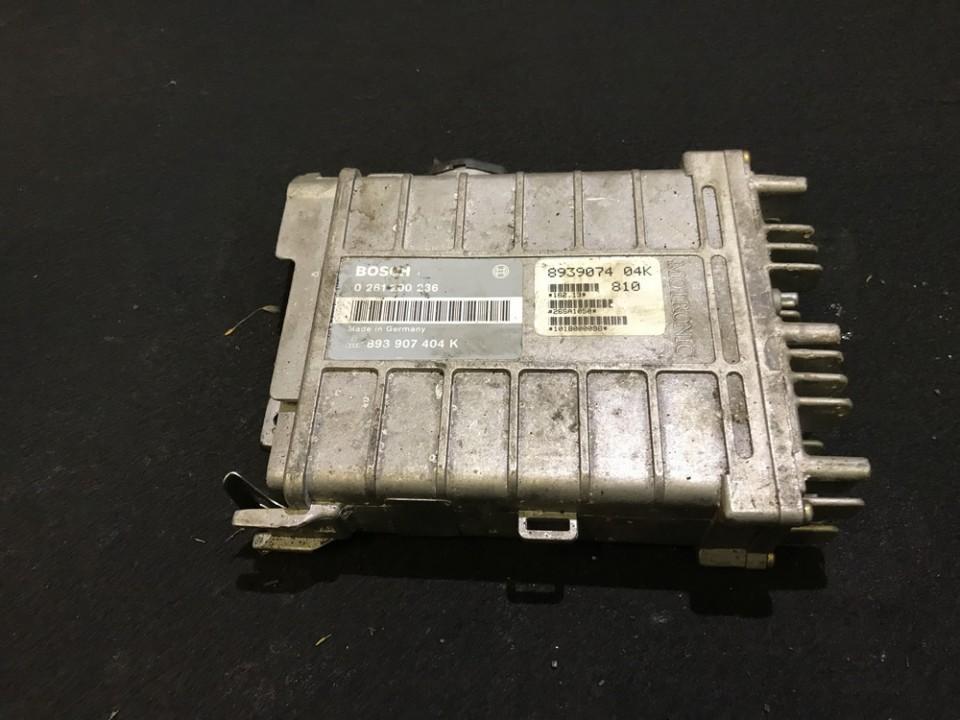 Variklio kompiuteris 0261200236 893907404k,  Audi 80 1985 1.8