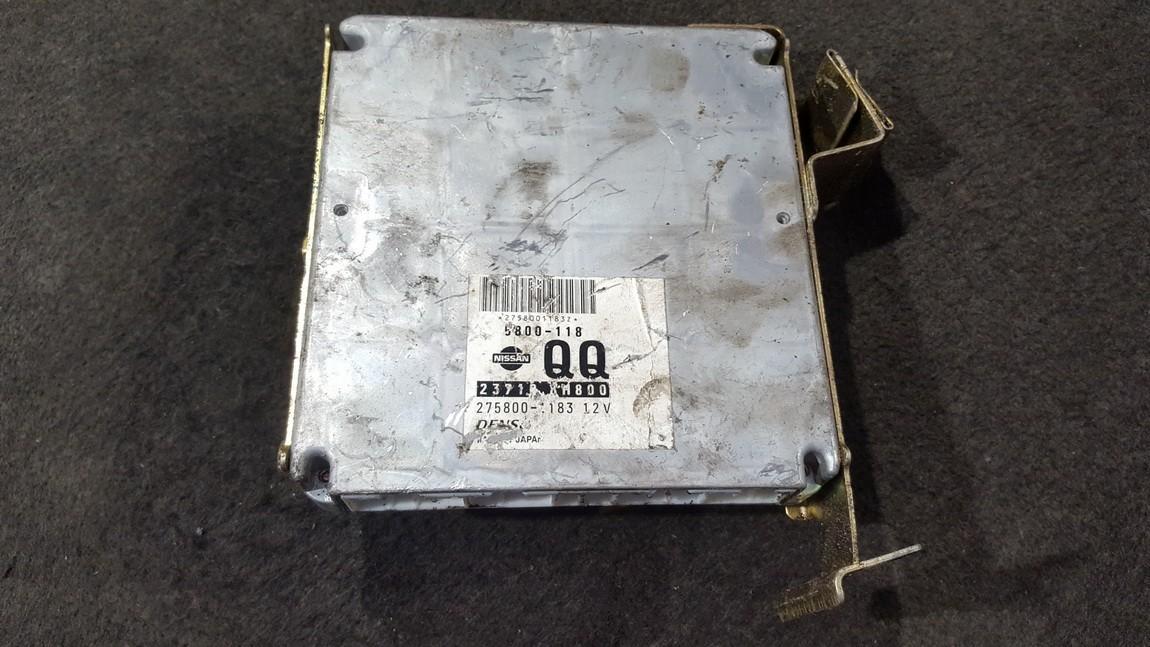 Variklio kompiuteris 2758001183 5800-118, 237108H800, 5800118, 275800-1183 Nissan X-TRAIL 2005 2.2