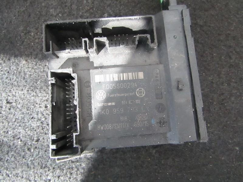 Electric window control unit Volkswagen Passat 2006    2.0 1K0959793L