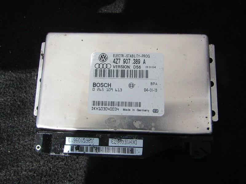 ESP PML BAS CONTROL UNIT ECU Audi Allroad 2002    2.5 4Z7907389A