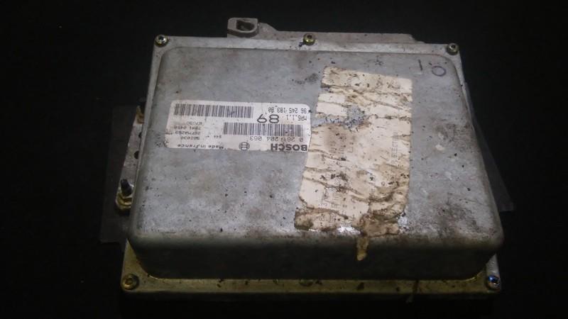 Variklio kompiuteris 0261204063 9624518380,26fm0269,70410458 Peugeot 406 1998 2.1