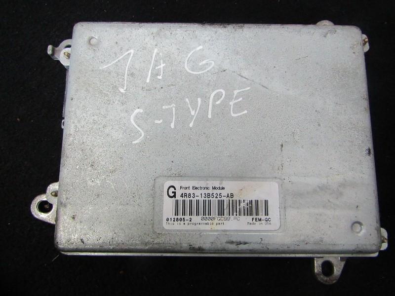 Kiti kompiuteriai 4R8313B525AB 4R83-13B525-AB, FEM-GC, 012805-2 Jaguar S-TYPE 2007 2.7