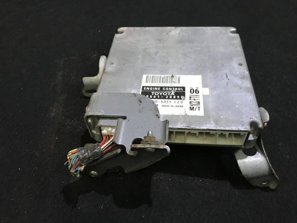 ECU Engine Computer (Engine Control Unit) 8966128890 89661-28890, 175800-5321 Toyota PREVIA 2003 2.0