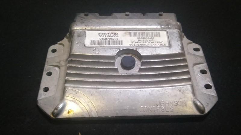 Variklio kompiuteris 9653388480 21680497-2a,5311004334,9658798780,84820v02 Peugeot 407 2005 2.0