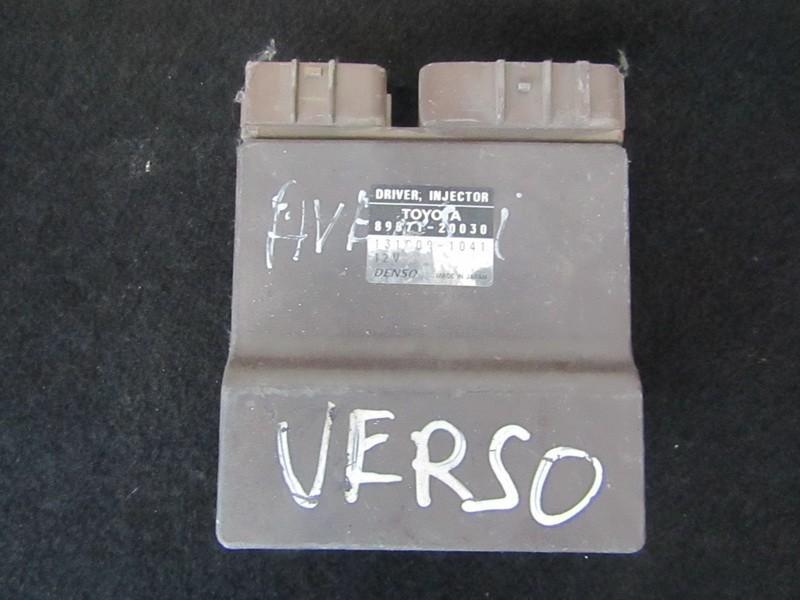 8987120030 89871-20030, 131000-1041 Fuel Injection ECU (Injector ECU)  Toyota Avensis Verso 2004 2 0L 50EUR EIS00272085 | Used parts Shop