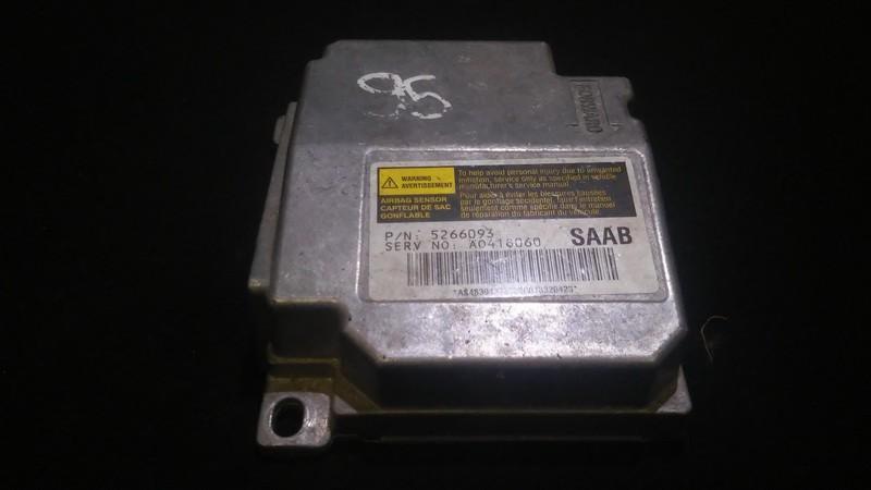 Блок управления AIR BAG  5266093 a0418060 SAAB 9-5 1998 2.0