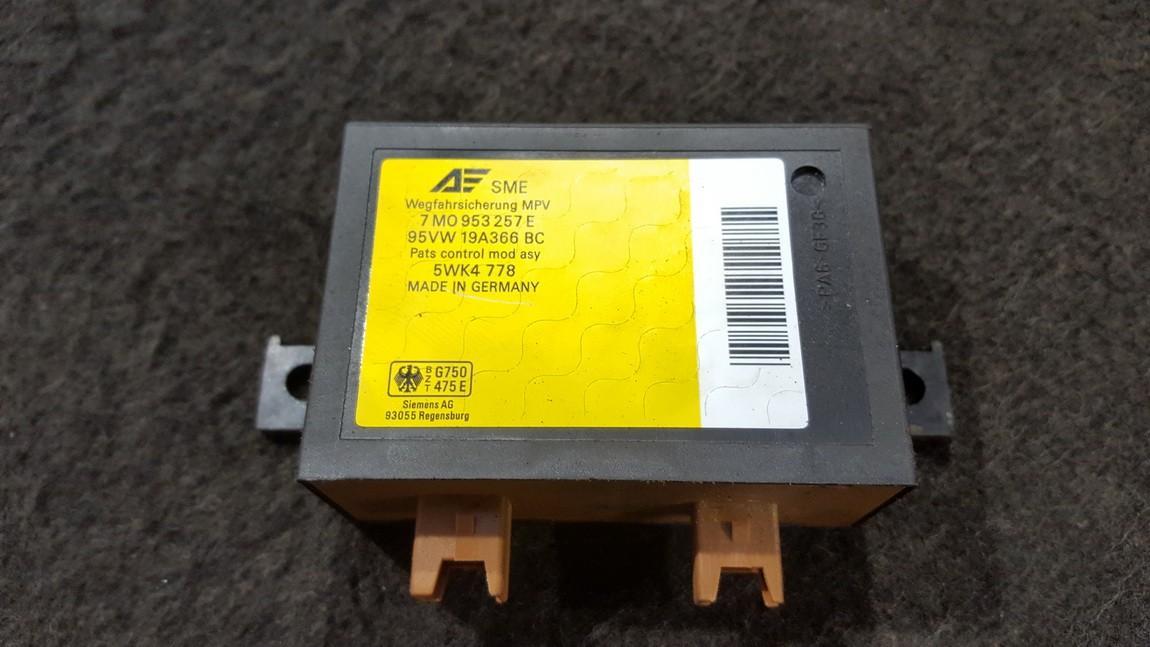 Immobiliser ECU Ford Galaxy 1997    2.0 7M0953257E