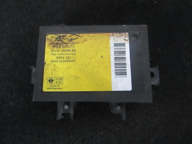 Kiti kompiuteriai 7mo953257c 95vw19a366bb, 5wk4633 Volkswagen SHARAN 2000 1.9