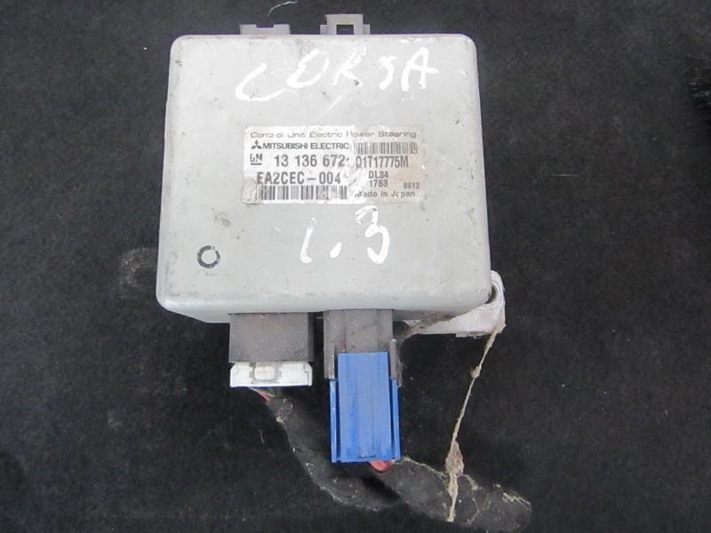 Vairo stiprintuvo kompiuteris 13136672 q1717775m, ea2cec-004 Opel CORSA 1997 1.7