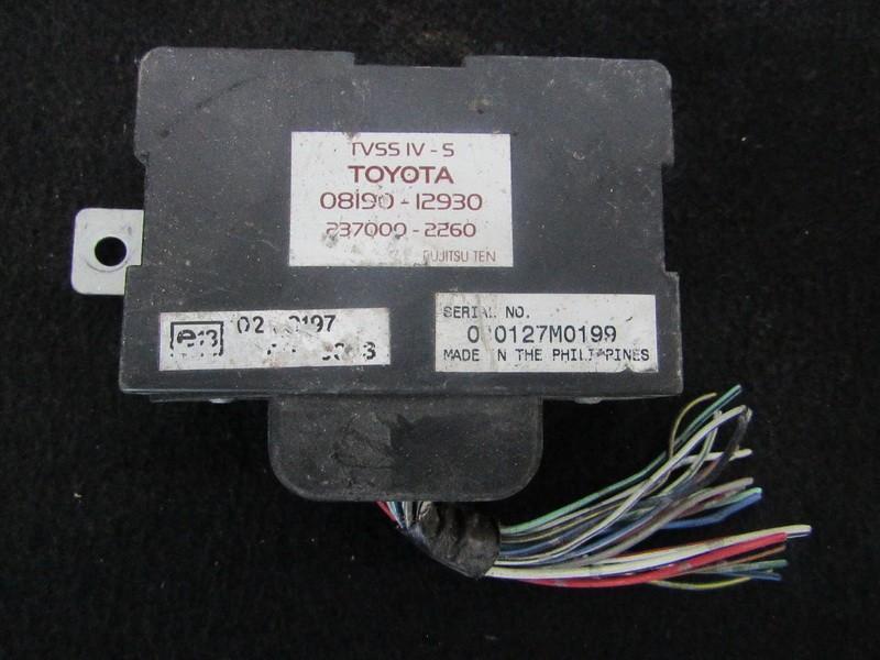 Kiti kompiuteriai 0819012930 08190-12930, 237000-2260 Toyota RAV-4 2003 2.0