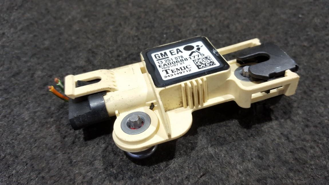Srs Airbag daviklis 13251078 EA006881775 Opel ASTRA 2002 1.7