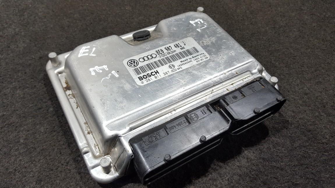 Комплект зажигания Audi A6 2004    2.5 8E0907401J