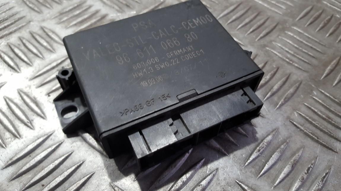 Parking Sensor ECU Citroen C6 2007    0.0 9661106680
