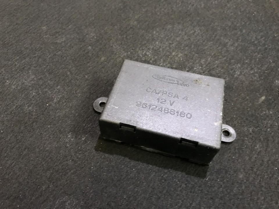 Electric window control unit Peugeot 806 2001    0.0 9612488180