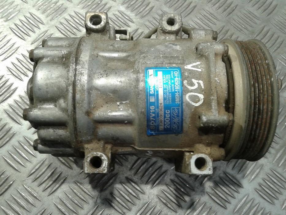 Компрессор системы кондиционирования 3M5H19D629HD 3M5H-19D629-HD Volvo V50 2005 2.4