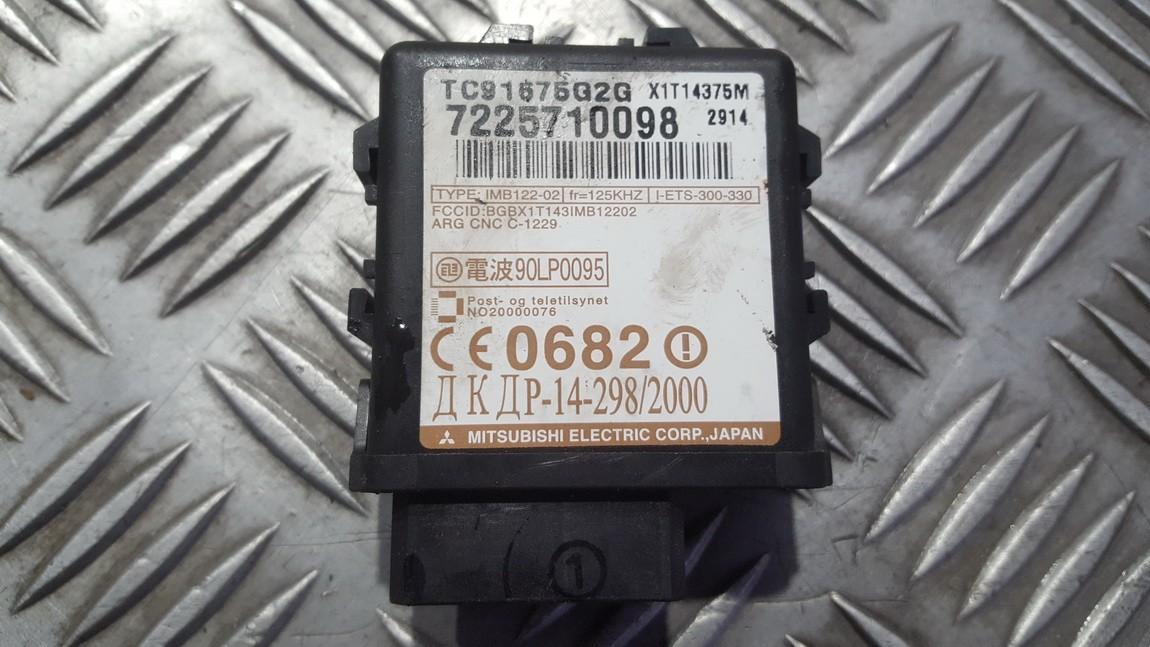 Immobiliser ECU Mazda Premacy 2004    1.8 TC91675G2G