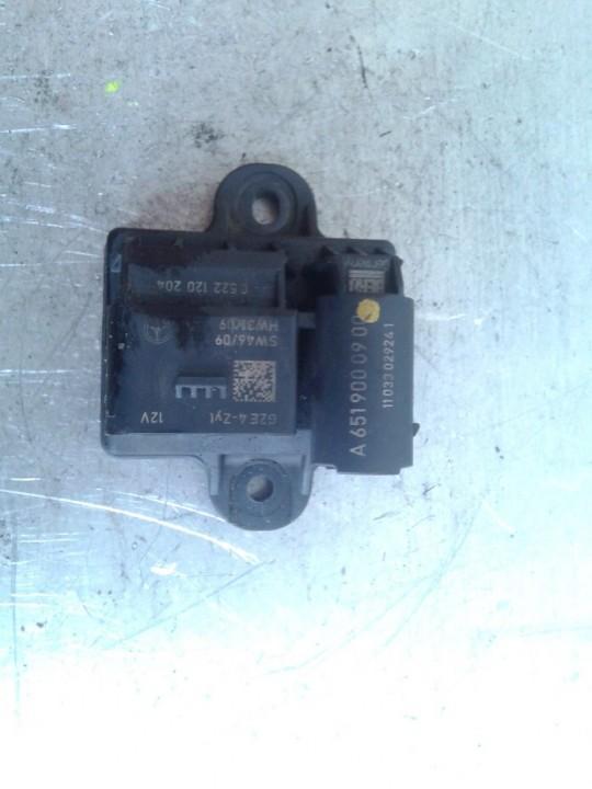Glow plug relay Mercedes-Benz Sprinter 2012    2.2 A6519000900