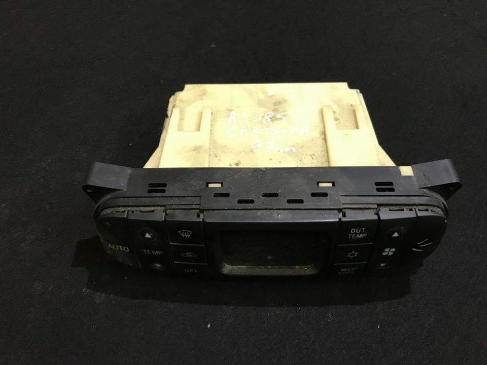 Блок управления климатической установкой mr398016 cab502a005c Mitsubishi CARISMA 1996 1.6